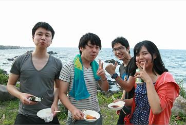 屋久島で社員旅行