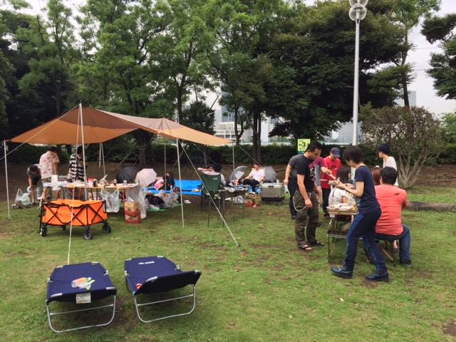 BBQ (晴海) 2015年6月27日